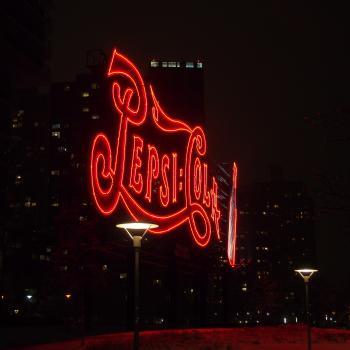 LIC Pepsi sign