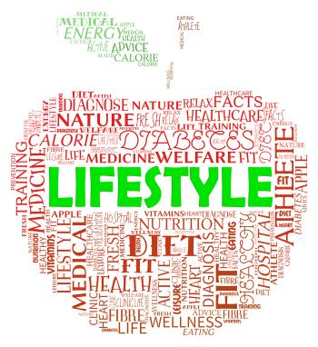 Lifestyle Apple Shows Life Choice And Living