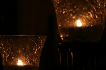 Light and candle effect