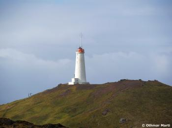 Lighthouse at Grindavik, Iceland