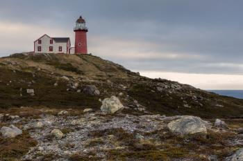 Lighthouse in Newfoundland