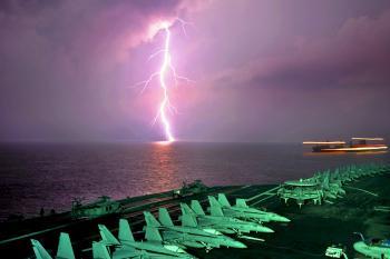 Lightning in the Sea