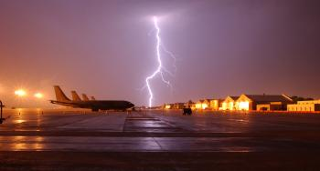 Lightning on the Airport