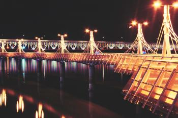 Lights of pier
