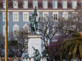 Lisbon sculpture