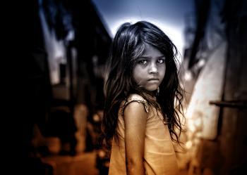 Little Girl with Sad Eyes