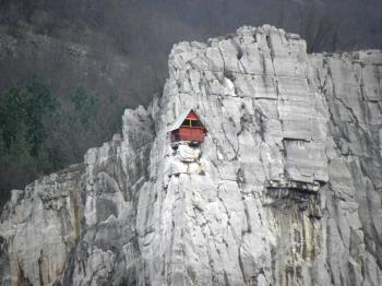 Little house on the rocks