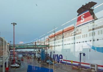 Loading dock for Stena Danica 1