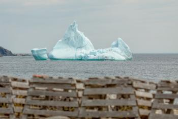 Lobster Pots and Iceberg