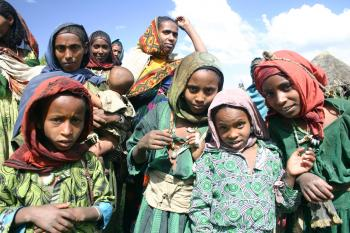 Local People, Simien Mountains National Park, Ethiopian Highlands