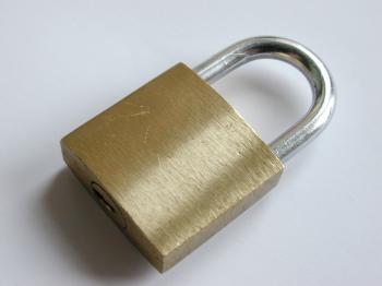 Locked Padlock