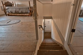 Lockhouse Staircase & Sleeping Quarters