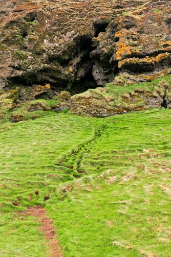 Loftsalahellir Cave Trail