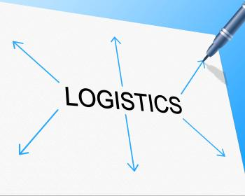 Logistics Distribution Shows Supply Chain And Delivery