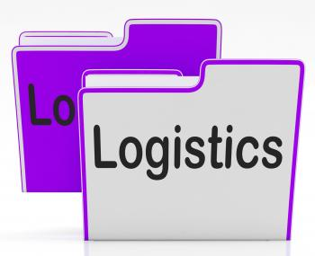 Logistics Files Indicates Concept Business And Administration