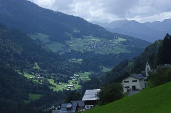 Long View Along Valley, Sonntag, Austria