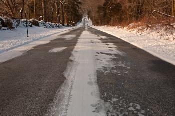 Long Winter Road - HDR