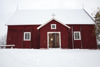 Lopen vanhan kirkko, Loppi, Finland
