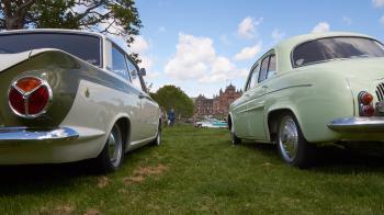 Lotus Cortina, Renault Dauphine and Nash Metropolitan
