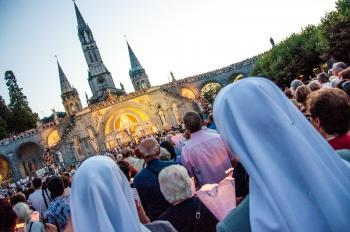 Lourdes prayer ceremony