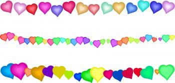 Love Heart Borders
