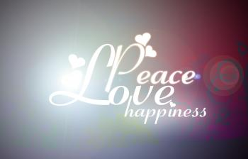 Love Peace Happiness