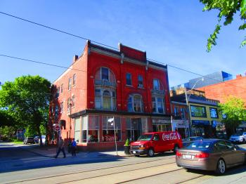 Lovely old building on Queen, 2017 06 03 -a