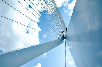 Low-angle Cable Bridge