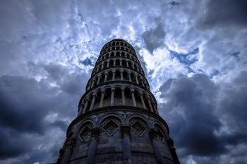 Low Angle Photo of Grey Concrete Tower