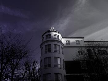 Low Angle Photo of White Painted House