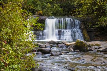 Lower Royal Terrace Falls, McDowell Falls, Oregon