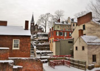 Lower Town in the winter