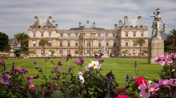Luxembourg Palace, Paris France