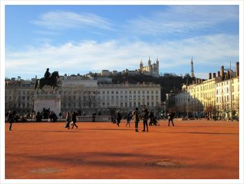 Lyon, place Bellecour France