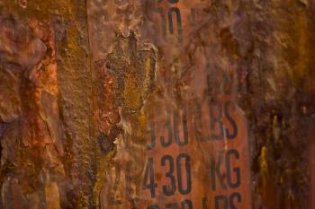 Macro Rust Texture