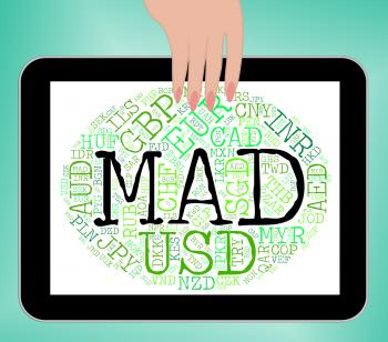 Mad Currency Means Worldwide Trading And Currencies