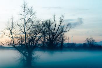 Magla na nasipu