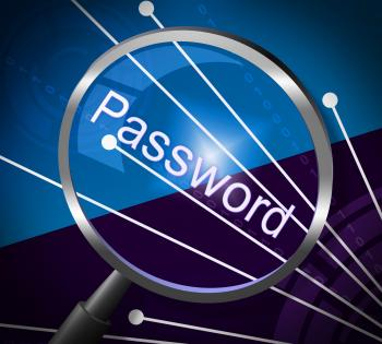 Magnifier Password Shows Log In And Accessible