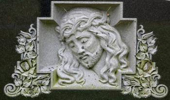Marble Jesus Carving