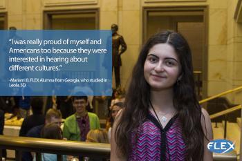 Mariami, FLEX Alumna
