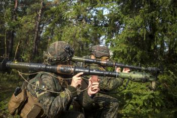 Marines with Bazooka