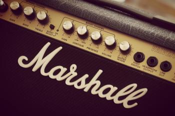 Marshall Black Guitar Amplfier