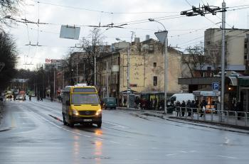 Marshrutka in Kaunas