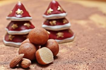 Marzipan Potatoes