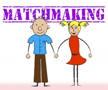 Matchmaking Couple Indicates Relationship Togetherness And Matchmake