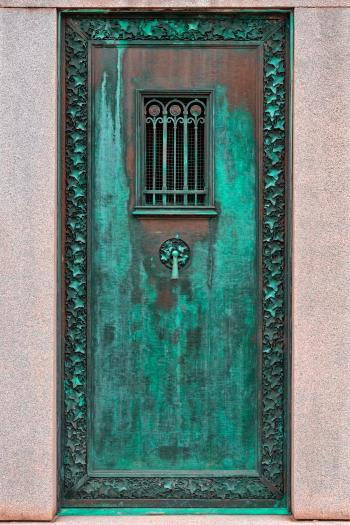 Mausoleum Door - HDR