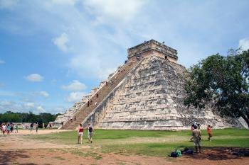 Maya temple, Mexico