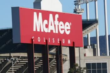 McAfee sign