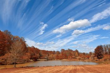 Meadowlark Gardens - Autumn Warm HDR