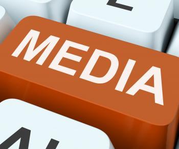 Media Key Shows Multimedia Newspapers Or Tv